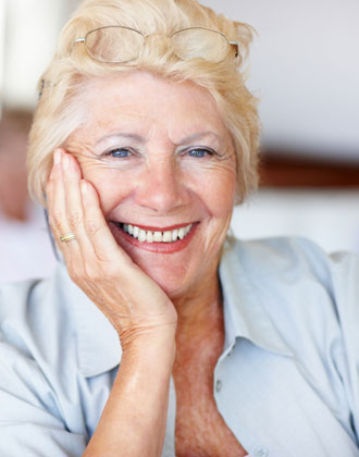 Tips and Advice: senior woman smiling